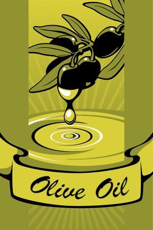 labels for Olive Oil 2  Vector