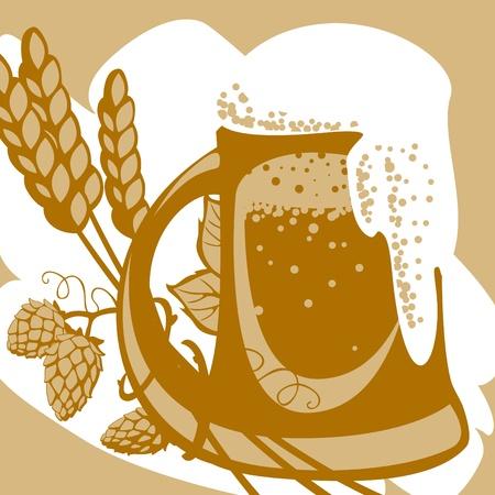 designer labels: Beer. Vector. similar to the portfolio