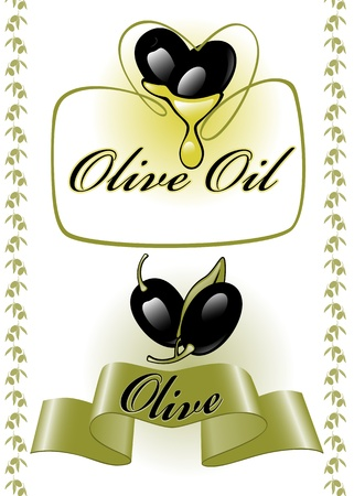 collection for the label. olives 2. similar to the portfolio Vector