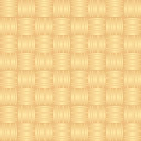 Wicker wood pattern background Stock Vector - 9899734