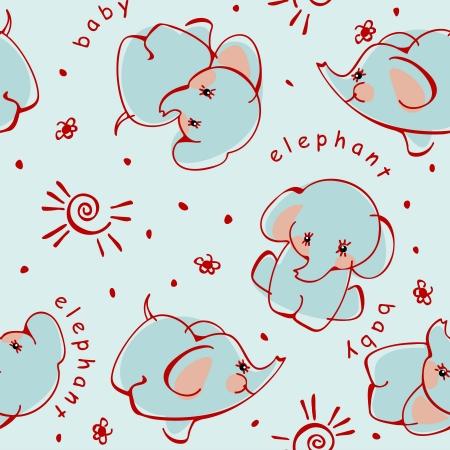 baby background: elephant. children background with wild animals.
