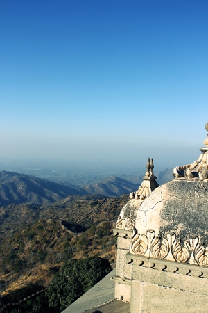 valley view: Valley view from Kumbhalgarh fort India