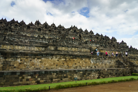 Borobudur Temple (Candi Borobudur), Yogyakarta, Java, Indonesia.