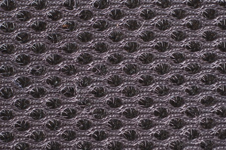 black fabric texture Stock Photo - 12128628