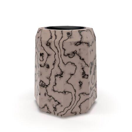 3d model urn Varshava Marble Tan Standard-Bild