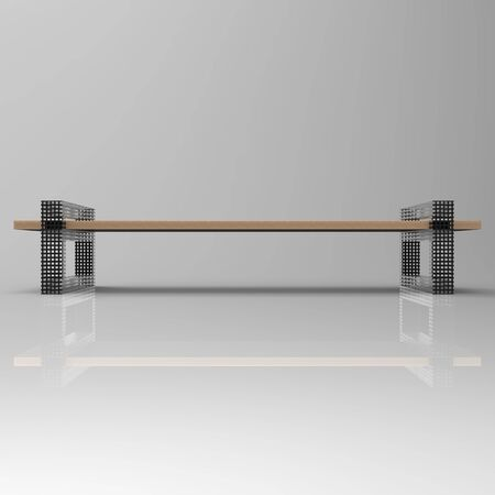 3d image perforeted bench Rampa 4