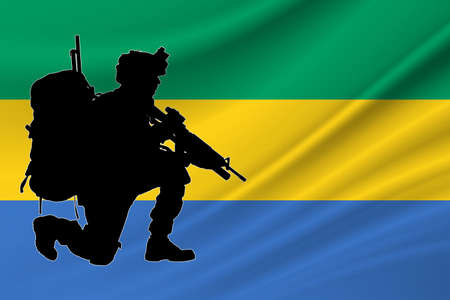 Independence Day Gabon. Military of Gabon. Day of Remembrance of the Fallen Soldiers Gabon.