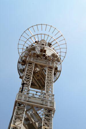 Radio broadcast tower 版權商用圖片