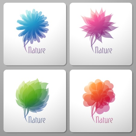 Nature. Elements for design. Vector illustration.