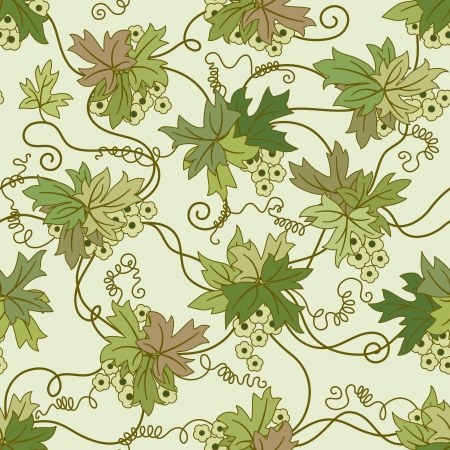 floral ornaments: Seamless floral background. Repeat many times. Vector illustration.