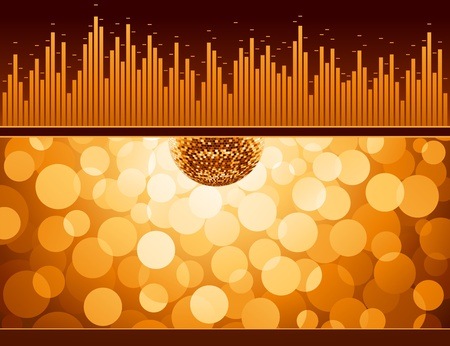 Abstract party design. Vector illustration. Vector