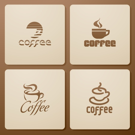Coffee. Elements for design. Vector