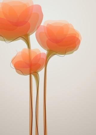 Flowers. Vector illustration. Vector