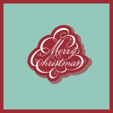 Retro Christmas design Stock Vector - 15805716