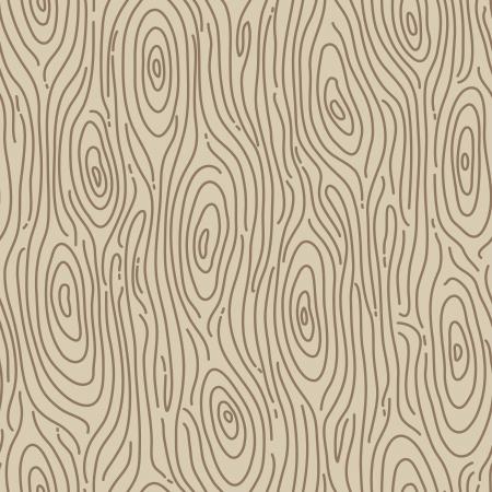 Retro houten naadloze achtergrond - Vector illustratie