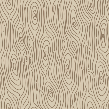 artistic texture: Retro wood seamless background - Vector illustration Illustration