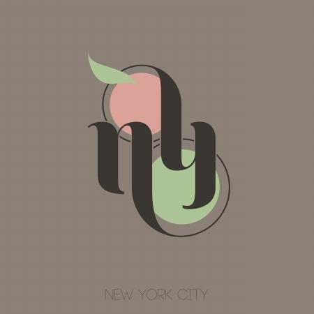 New York City hand lettering - Vector illustration Stock Vector - 24230908
