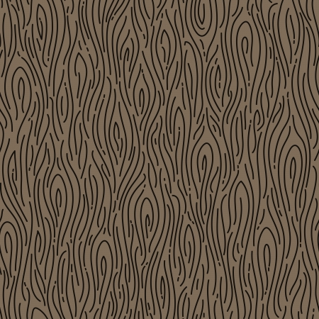 Retro wood seamless pattern - Vector illustration Vector