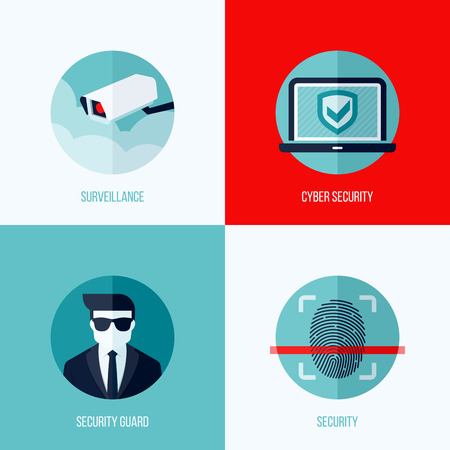 security: Modern flat concepts of security and surveillance