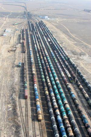 Oil tanks Stock Photo - 2603610