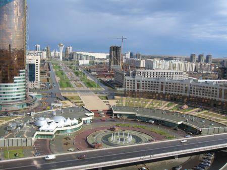 astana: Astana city panorama