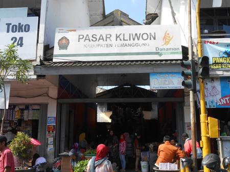 tradional:  Pasar Kliwon  Tradional Market in Temanggung Central Java Indonesia