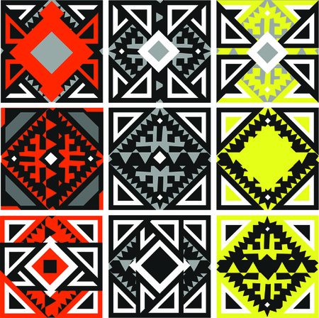 primeval: ornament, sample, pattern, background, geometrical, abstract, ethnic, national, primitive,