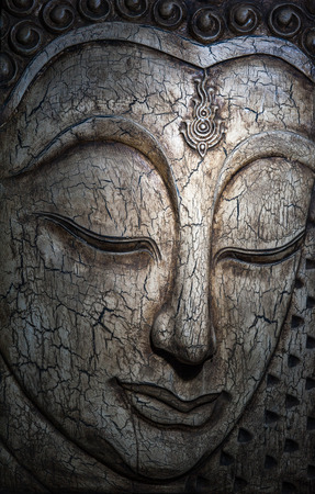buddha face: Beautiful still life with Buddha face