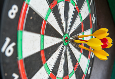 Darts hit the target all the media about the success of the team photo