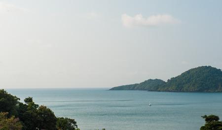 chand: isla chand en Tailandia Foto de archivo