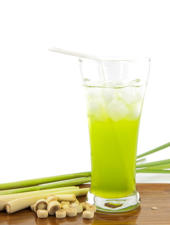 distension: Lemon grass sweaty and diuretic properties. And help maintain a check for colic distension. Stock Photo
