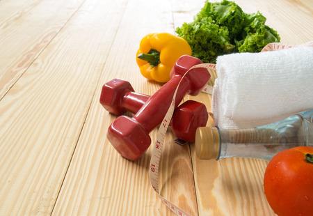 comer sano: Concepto de estilo de vida saludable, la dieta y la forma f�sica