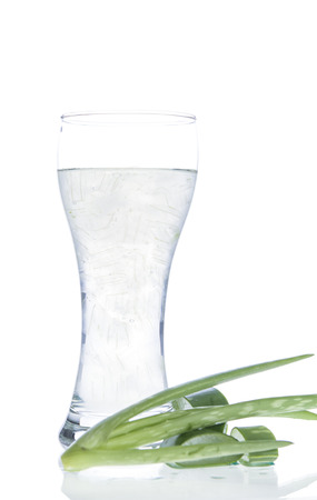 Aloe vera water Can help neutralize free radicals Contributes to aging. And help strengthen the immune system as well photo