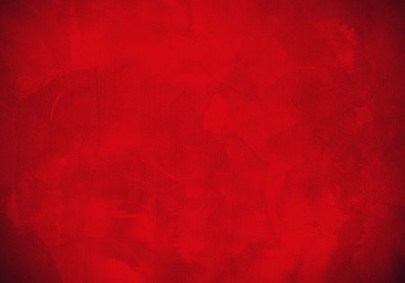 at paint: Red plaster wall surface