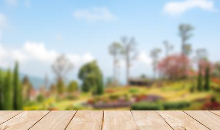 tourist destinations: Blur khun Wang Park is a popular tourist destinations in Thailand. Stock Photo