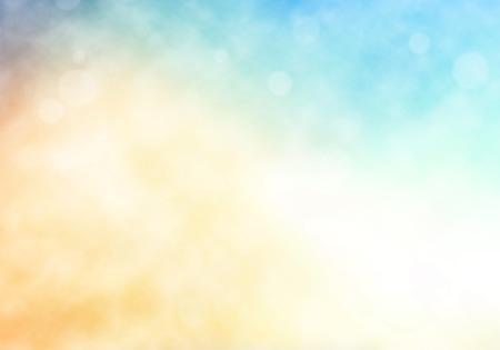 Abstract  bokeh and smoke, blur nature background. Standard-Bild