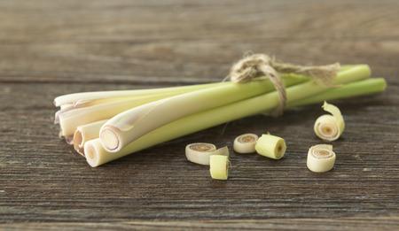 lemongrass: Fresh lemongrass as a spice for health.