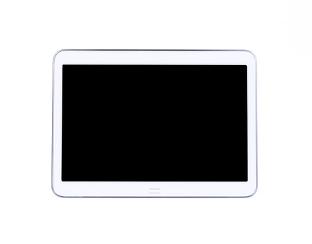 perfectly: Perfectly detailed modern Tablet isolated on white background.