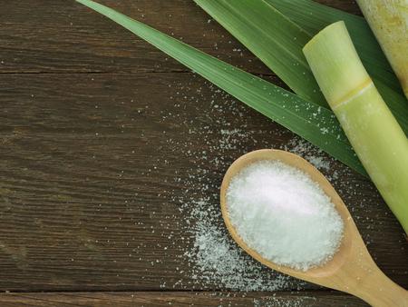 azucar: El azúcar producido a partir de caña de azúcar. Concepto Agricultura Industria
