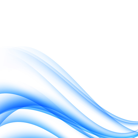 blue background of gradient smooth and soft waves elegant luxury