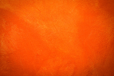 Orange cement wall texture for  abstract background with copy space your writing text. Standard-Bild - 116707338