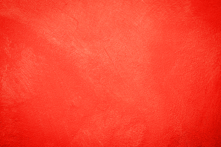 Red cement wall texture for Christmas or valentine, red abstract background with copy space your writing text. Standard-Bild - 116707360