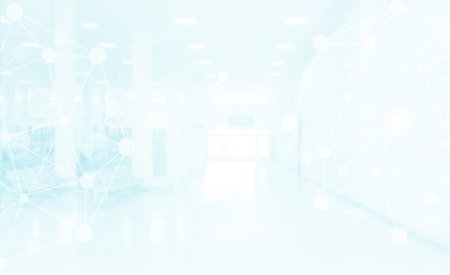 Medical abstract concept. Hospital blur background with digital icon. Standard-Bild - 119798691