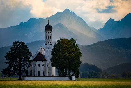 The idyllic church, St. Coloman, has been partly rebuilt since the 15th century and repeatedly expanded. The Baroque pilgrimage church received a style-pure arrangement and equipment of native artists.