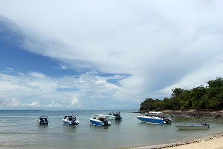 speedboats: speedboats Stock Photo