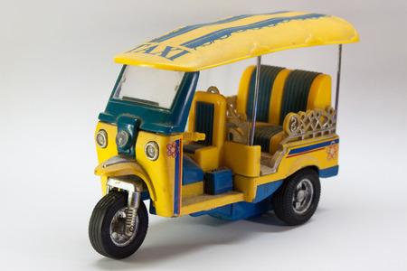 tuktuk: Tuk-Tuk Three-Wheeler Toy
