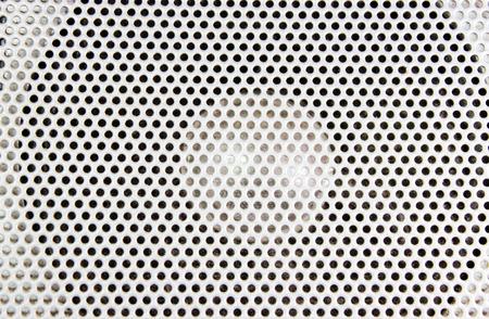 Loudspeaker Texture Detail Close-up