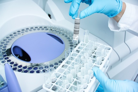 medical laboratory: medical healthcare test
