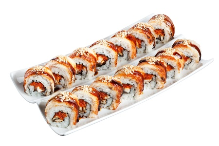 Sushi rolls philadelphia  Stock Photo - 12521351