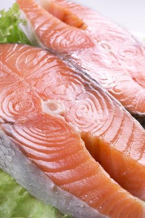 pink salmon: Fresh salmon